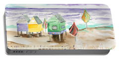 Beach Houses Portable Battery Charger