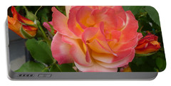Portable Battery Charger featuring the photograph Beautiful Rose With Buds by Lingfai Leung