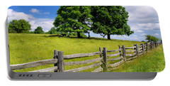 Beautiful Virginia Pasture Portable Battery Charger