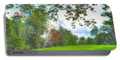 Portable Battery Charger featuring the photograph Beginning Of Fall by Michael Frank Jr