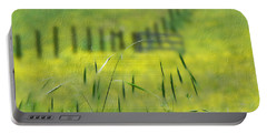 Portable Battery Charger featuring the photograph Beyond The Weeds by EricaMaxine  Price