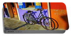 Bicycle Stance Burano Italy Portable Battery Charger