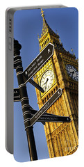 Big Ben Clock Tower Portable Battery Charger
