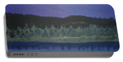 Portable Battery Charger featuring the painting Big Sky Country by Norm Starks