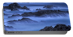 Big Sur Mist Portable Battery Charger by William Lee
