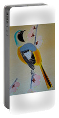 Bird Print Portable Battery Charger