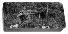 Bird Shooting, 1886 Portable Battery Charger