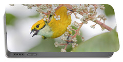 Bird With Berry Portable Battery Charger