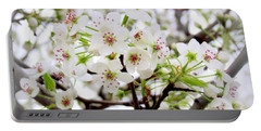 Portable Battery Charger featuring the photograph Blooming Ornamental Tree by Kay Novy