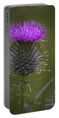 Blooming Thistle Portable Battery Charger