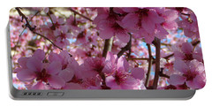 Portable Battery Charger featuring the photograph Blossoms by Lydia Holly