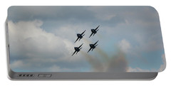 Blue Angels Roaring By Portable Battery Charger