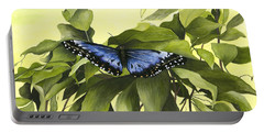 Blue Butterfly Of Branson Portable Battery Charger