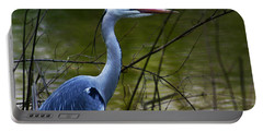 Blue Heron Vondelpark Amsterdam Portable Battery Charger