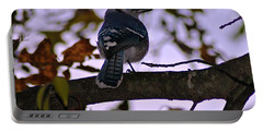Blue Jay Portable Battery Charger by Joe Faherty