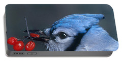 Blue Jay Portable Battery Charger by Photo Researchers, Inc.