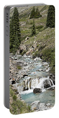 Blue Mountain Stream Portable Battery Charger