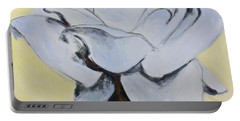 Blue Rose-3-posthumously Presented Paintings Of Sachi Spohn  Portable Battery Charger