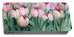 Blushing Tulips Portable Battery Charger