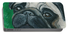 Bo The Pug Portable Battery Charger