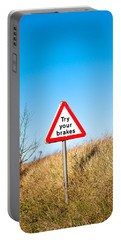 Brakes Sign Portable Battery Charger