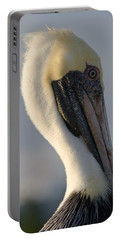 Brown Pelican Profile Portable Battery Charger