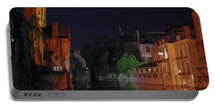 Portable Battery Charger featuring the photograph Bruges by David Gleeson