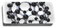 Buckminsterfullerene Or Buckyball C60 18 Portable Battery Charger
