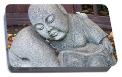 Portable Battery Charger featuring the photograph Buddha by Chalet Roome-Rigdon