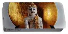 Buddha Girl Portable Battery Charger