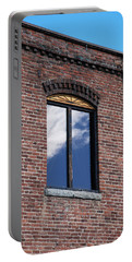 Portable Battery Charger featuring the photograph Building Series - Sky Views by Kathleen Grace