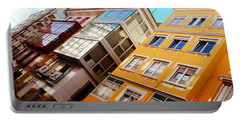 Buildings - La Coruna Spain Portable Battery Charger