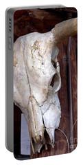 Bull Skull Portable Battery Charger