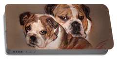 Bulldogs Portable Battery Charger
