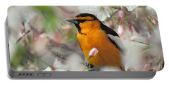 Bullock's Oriole Portable Battery Charger
