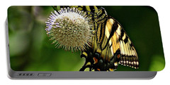 Butterfly 3 Portable Battery Charger by Joe Faherty