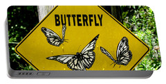 Butterfly Crossing Portable Battery Charger