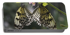 Butterfly Duo Portable Battery Charger by Eunice Gibb