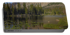 Butterfly Lake Uinta Range Utah Portable Battery Charger