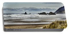 By The Sea - Seaside Oregon State  Portable Battery Charger