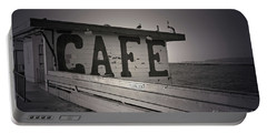 Cafe On The Pier Portable Battery Charger