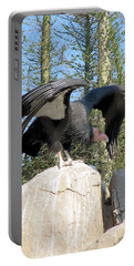 Portable Battery Charger featuring the photograph California Condor by Carla Parris