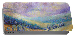 Portable Battery Charger featuring the painting California Pleasant by Lynn Buettner