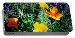 Portable Battery Charger featuring the photograph California Poppy by Nina Prommer