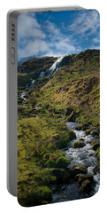 Calmness At The Falls Portable Battery Charger