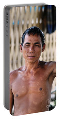 Cambodian Dignity Portable Battery Charger by Nola Lee Kelsey