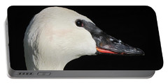 Trumpeter Swan Portable Battery Charger by Maciek Froncisz