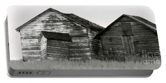 Portable Battery Charger featuring the photograph Canadian Barns by Jerry Fornarotto