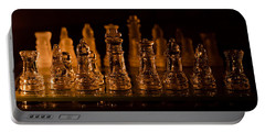Candle Lit Chess Men Portable Battery Charger