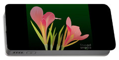 Canna Lilly Whimsy Portable Battery Charger